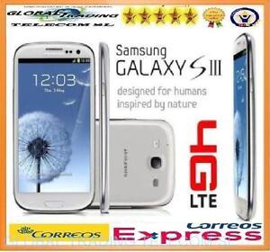 SAMSUNG-GALAXY-S3-4G-LTE-i9305-16GB-BLANCO-LIBRE-SMARTPHONE-TELEFONO-MOVIL