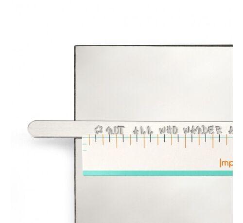 Marker Stift Oder Band Guide ImpressArt Stanzen Auswahl Zubehör Stempel Emaille