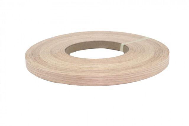 Preglued Red Oak Wood Edge Banding Tape 13//16/' 250/' Roll