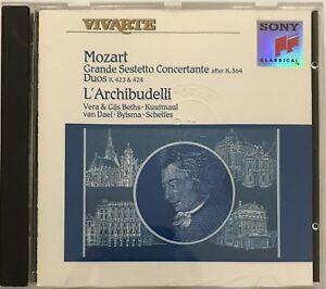 WOLFGANG-AMADEUS-MOZART-L-039-ARCHIBUDELLI-CD-ALBUM