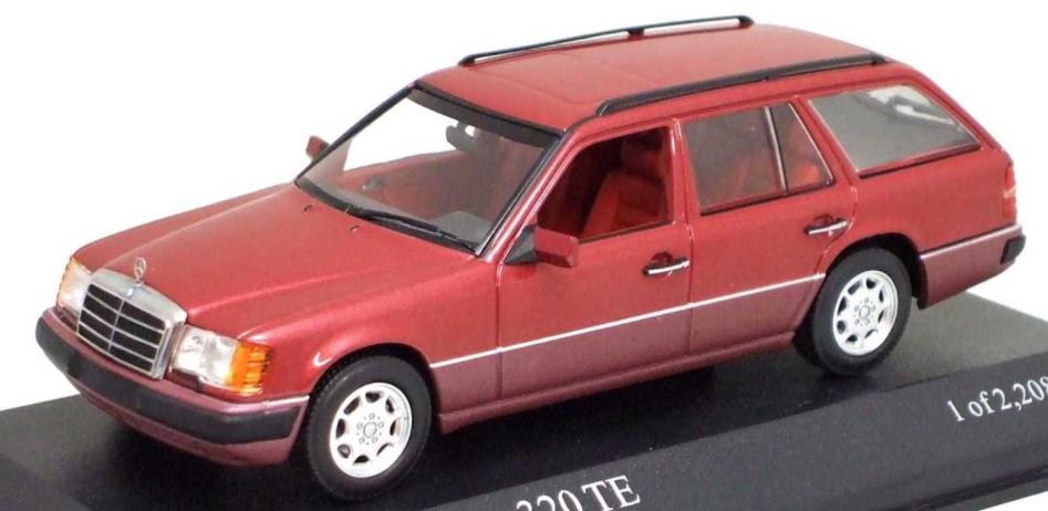 vendite online Mercedes Benz 320 TE 1990 rosso Mettuttiic 400037010 1 43 43 43 Minichamps  clienti prima reputazione prima