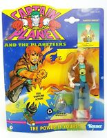 Vintage ☆ Wheeler Planeteer Captain Planet Action Figure ☆ Carded 90s Kenner