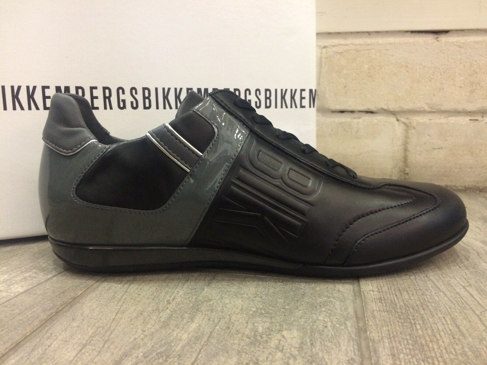 Dirk Bikkembergs Mens shoes Fashion Sneakers Trainers BKE106933 - New In Box