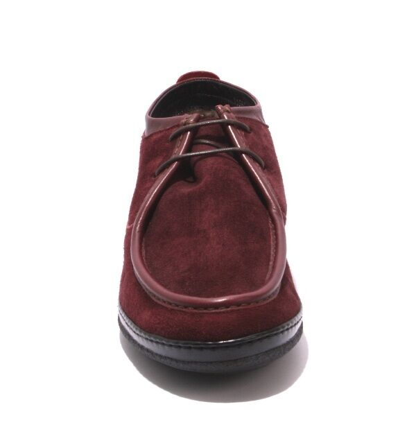 Ernesto Dolani 11984a Wine Wine 11984a Suede / Sheepskin Lace Ankle Moccasin Boot 44 / US 11 d772c3