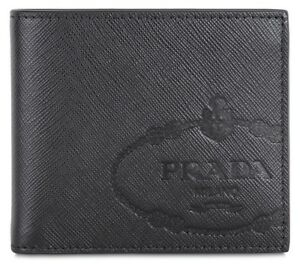 PRADA-Signature-Saffiano-Leather-Billfold-Wallet-with-Gift-Box-Made-in-Italy