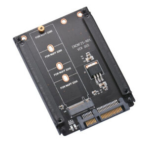 "Enclosure mSATA SSD to 2.5/"" SATA Convertor Adapter Card SSD Case C#P5"
