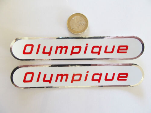 ORIGINAL neuf Autocollants CYCLES OLYMPIQUE 1960//70/'s NOS sticker.