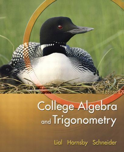 Trigonometry 9th Edition Lial Hornsby Schneider Pdf