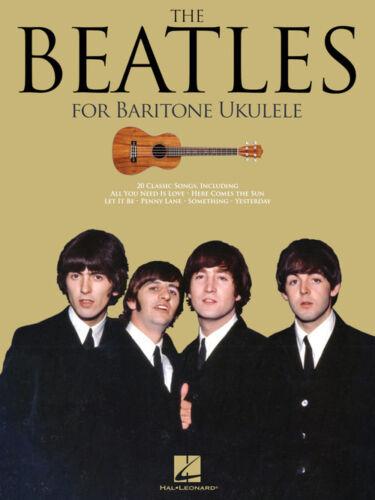 Baritone Ukulele Songbook 236166 The Beatles