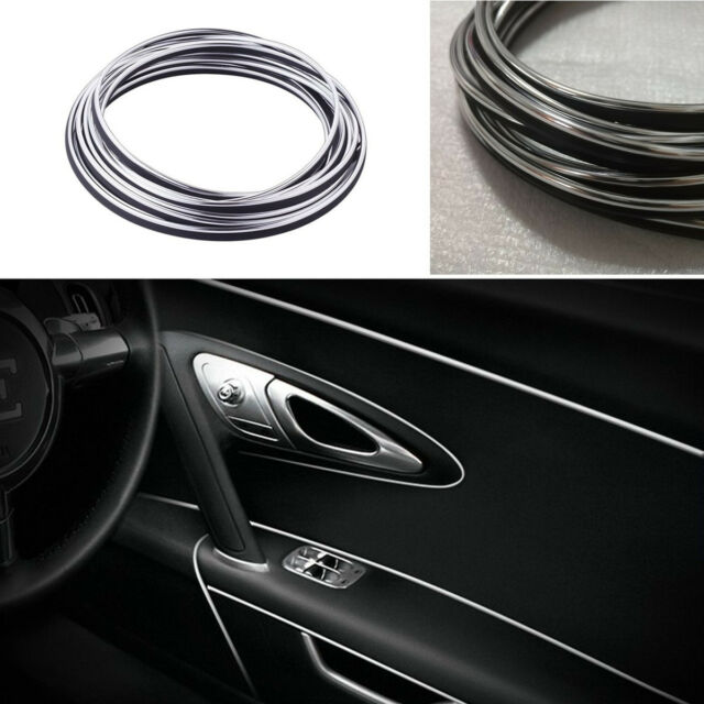 5M Universal Flexible Car Interior External Decorative Trim Strip Moulding Line