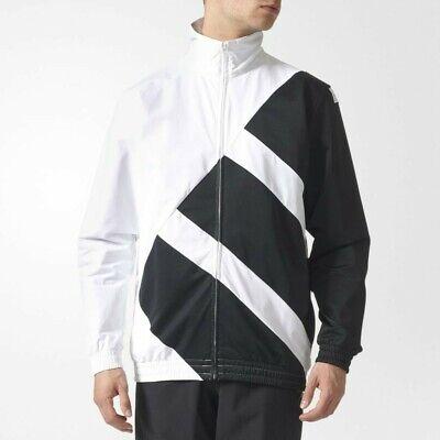 Adidas EQT BOLD TT Windbreaker Track Jacket Men's Size XL White Black | eBay