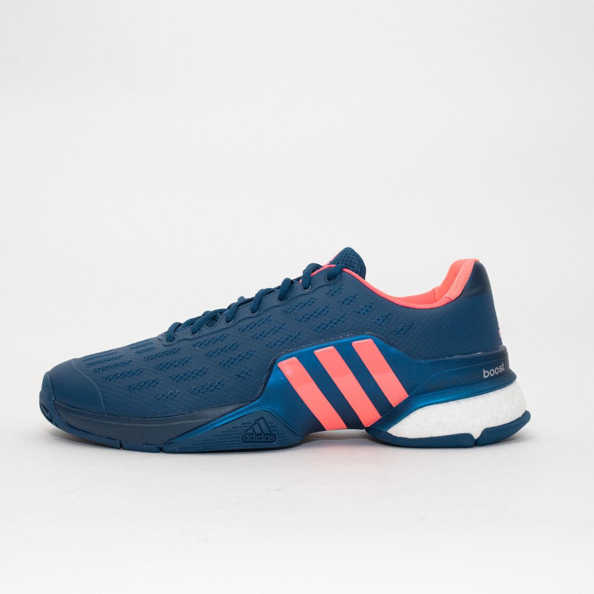 Zapatillas para hombre Adidas Barricada Boost Azul Marino Rrp  Tallas 12 Y Más