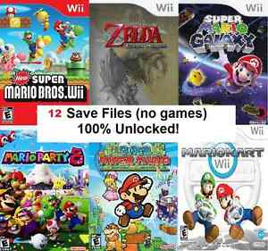 Detalles Acerca De Nintendo Wii De Archivos Sd 12 Juego Tramposo Ahorra Inc Mario Zelda Pokemon Mario Kart Mostrar Titulo Original