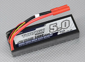 turnigy 5000mah 2s 7 4v 20c 30c hardcase lipo battery pack. Black Bedroom Furniture Sets. Home Design Ideas