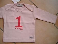 """(x52) Imps & Elfs baby maglietta con stampa"""" 1 one of the family Imps & Elfs """"gr.62"""