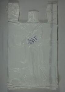 200-Qty-White-Plastic-T-Shirt-Retail-Shopping-Bags-with-Handles-11-5-034-x-6-034-x21-034