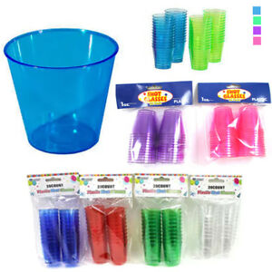 20-Shot-Glasses-Hard-Plastic-1-Oz-Mini-Wine-Glass-Party-Cups-Barware-Catering