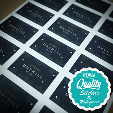 CUSTOM STICKERS - YOUR DESIGN PRINTED AND CUT TO ANY SHAPE - PRODUCT LABELS