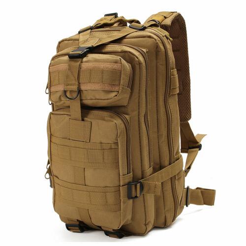 30L Hiking Camping Bag Army Military Tactical Trekking Rucksack Backpack  UK