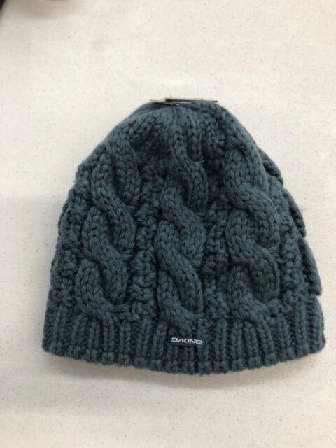 fabrycznie autentyczne świetne dopasowanie Los Angeles DAKINE Vine Womens 100 Acrylic Chunky Cable Knit Beanie Bluestone Sample