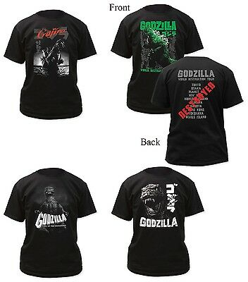 Authentic Godzilla Adult Men T-Shirt S, M, L, XL, 2XL, 3XL