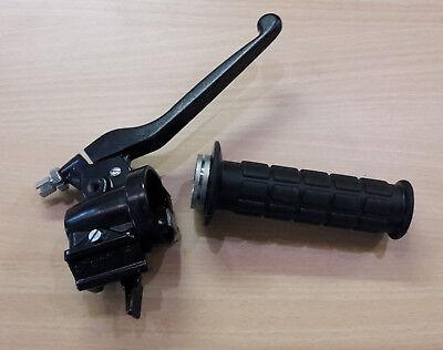 S51 Kleinteile S50 Gasgriff mit Armatur S70 mit Aufnahme f/ür Bremslichttaster SR50