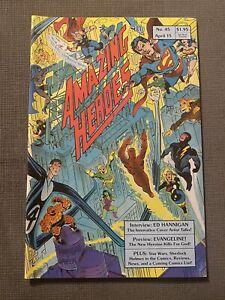 AMAZING-HEROES-45-1st-Ad-for-TMNT-Teenage-Mutant-Ninja-Turtles-1-amp-Gobbleygook