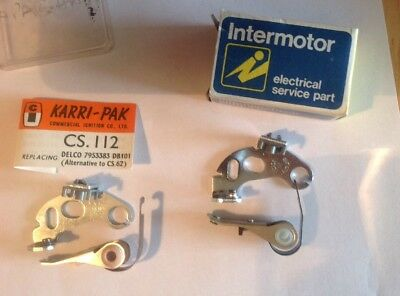 CONTACT POINTS for Triumph Spitfire 1300 1969-74 replaces Delco db101