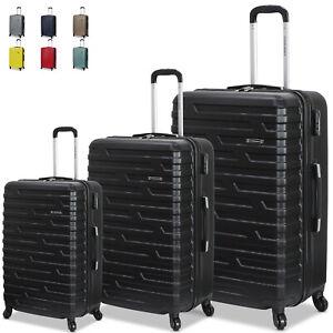 Tris-Set-3-Trolley-Rigido-ENRICO-COVERI-Valigie-con-4-RUOTE-Bagaglio-a-Mano-280