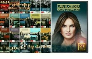 Law-And-Order-SVU-Complete-Series-Seasons-1-21-Collection-Bundled-Set-BRAND-NEW