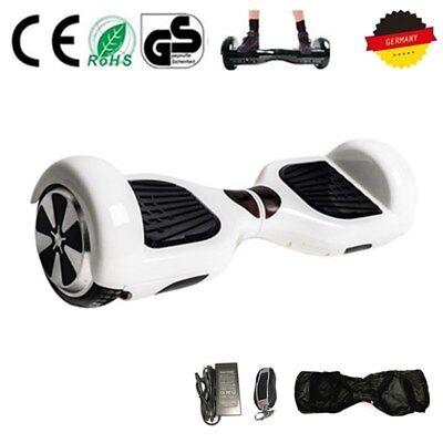 6.5Zoll Hover Skateboard Board Elektro E-Scooter Elektroroller 2Räder+LED+Tasche