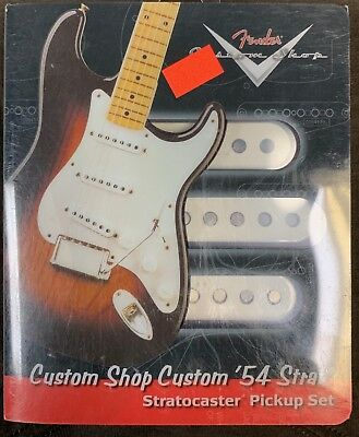 NEW Fender Custom Shop /'54 Stratocaster Strat PICKUP SET Pickups 0992112000