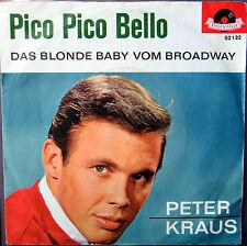 Single / PETER KRAUS / 60er / RARITÄT /