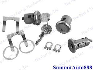 Camaro Chevelle Chevy Pickup Truck El Camino Ignition Door Lock Kit CALS67-4