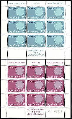 Flight Tracker Jugoslawien Kleinbogen Michelnummer 1379-1380 Postfrisch Geschickte Herstellung klbg 1232