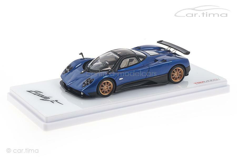 Pagani Zonda F bluee silverina-TSM 1 43 TSM430335