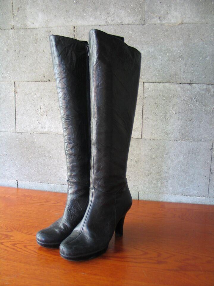 Støvler, str. 39, Sort