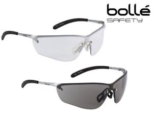 d34e699016cf Image is loading Bolle-Silium-Safety-Spectacles-Glasses-Clear-or-Smoked-