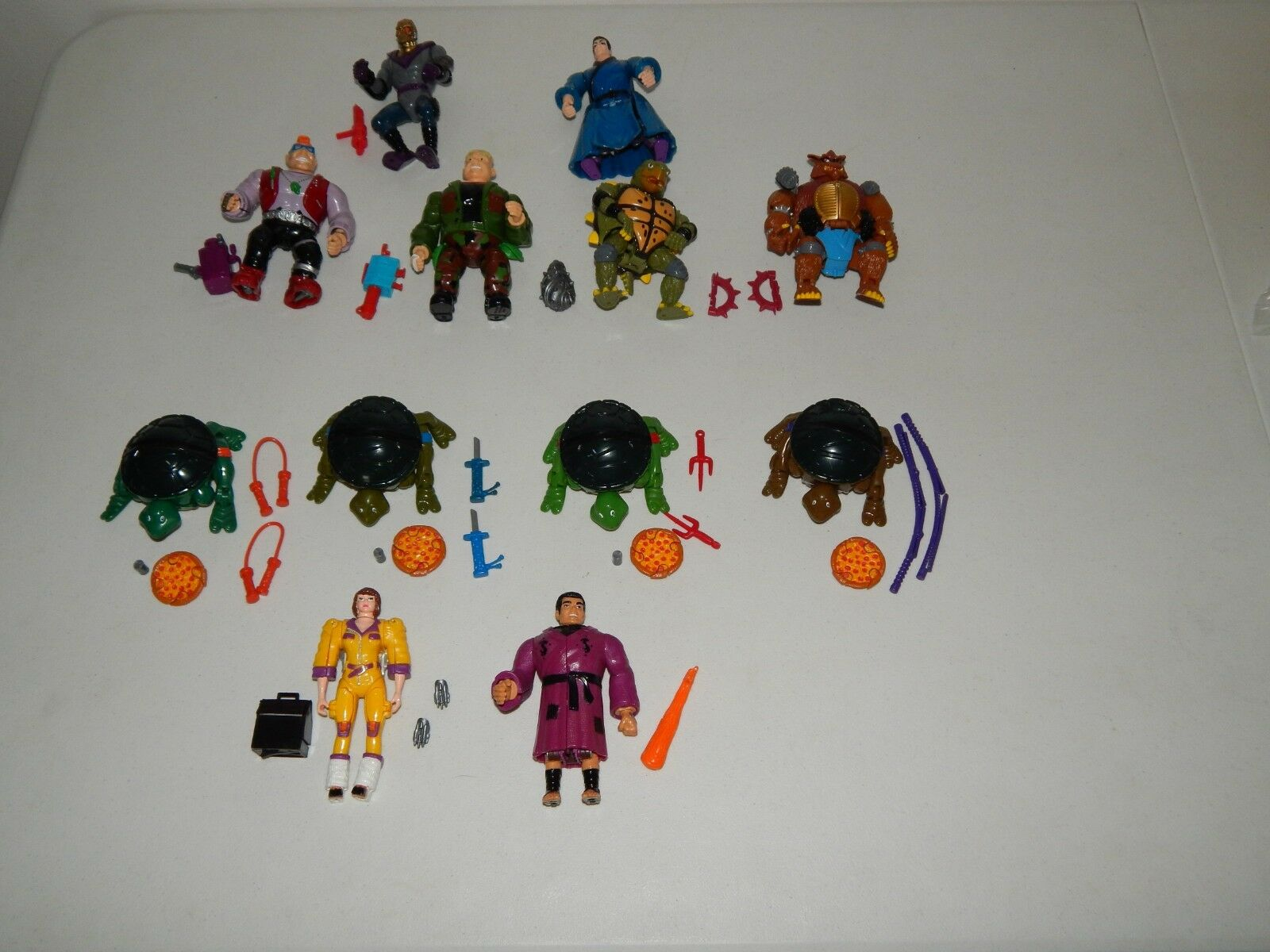 Ninja Turtles Mutations Figure Lot Playmates Toys 1992 ShROTder