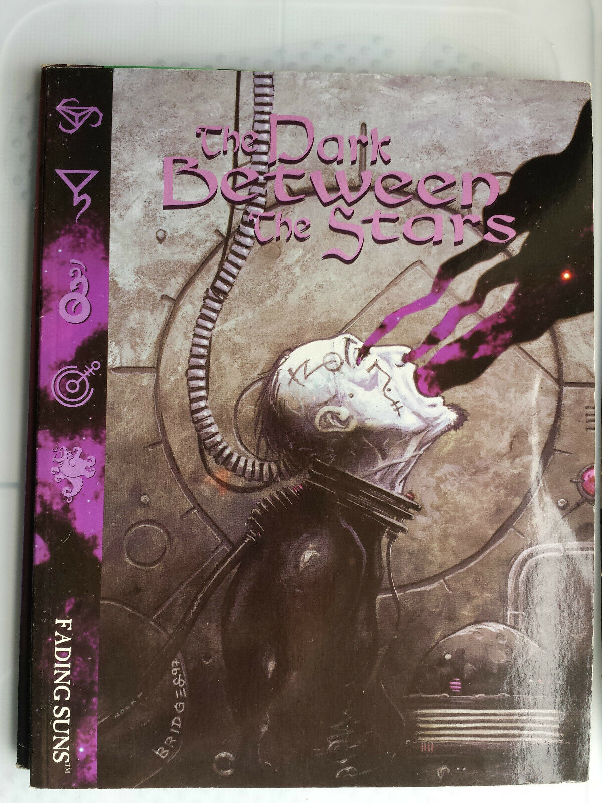 The Dark Between the Stars Fading suns sci-fi roleplaying RPG book