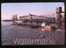 1960s  ektachrome 35mm Photo slide   ship boat  tugboat ?    Louisiana ??