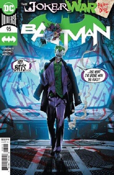 Batman #95 Prince Clown Joker War DC Comics 1st Print 2020 unread NM