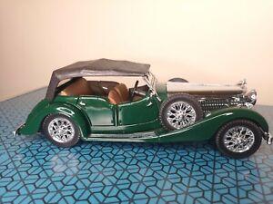 Franklin-Mint-precision-1938-Alvis-4-3-litros-4-asientos-Tourer-Diecast-Modelo-Coche