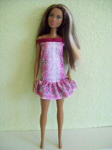 Mattel-Barbie-2015-Mbili-AA-Doll-Grace-Trichelle-Blonde-Highlights-Fuller-Body