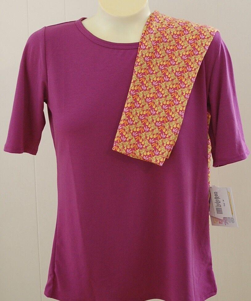 737fb21fb717 LuLaRoe Gigi Shirt Purple Pink orange Floral Leggings TC New & Curvy Tall M  nuubwq5783-Mixed Items & Lots