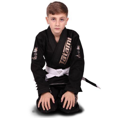 Black Tatami Fightwear Meerkatsu Kids Animal BJJ Gi
