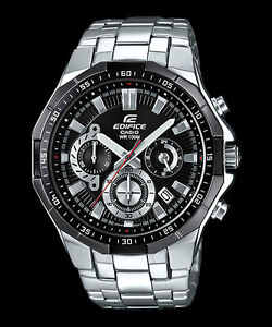 8c3fa037ee9d EFR-554D-1A Black Casio Men s Watches Edifice Date Analog Full Box ...