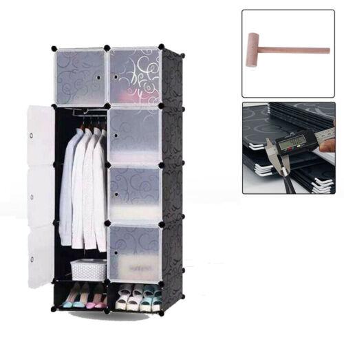 DIY Kunststoff Standregal Kleiderschrank Regal Schuhregal Steckregal Schuhablage