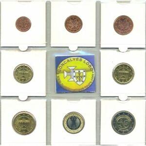 Allemagne 2009 D SERIE 7 MONNAIES ET 2 EURO Commemorative EMU  SUP-