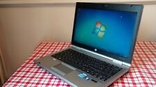 HP Elitebook 2560P Laptop Core i5 2.6Ghz 4GB 320GB Webcam Windows 7 Office AVG.